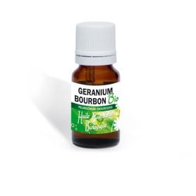 Huile essentielle Bio de Geranium bourbon