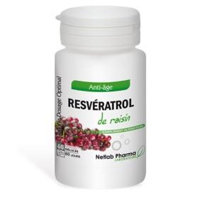 Resvératrol de raisin 60 gélules