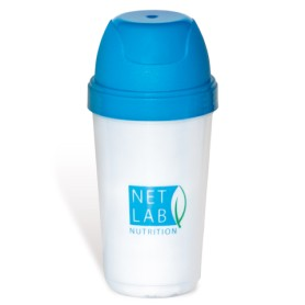 Shaker en plastique translucide gradué