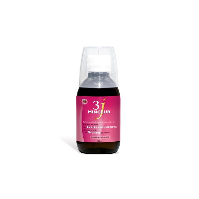 3J Minceur solution buvable 150 ml