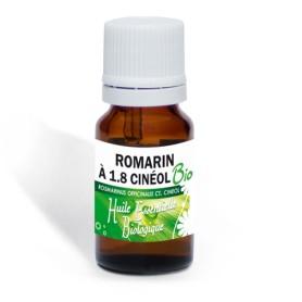 Huile essentielle Bio de Romarin à 1,8 cinéol