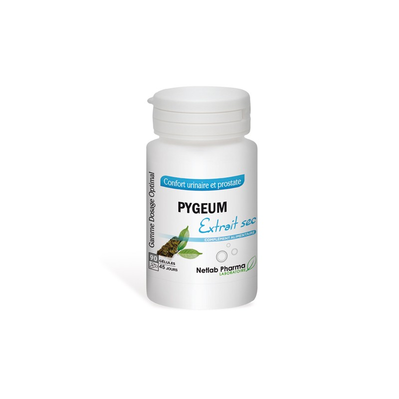 Pygeum 90 gélules Dosage Optimal