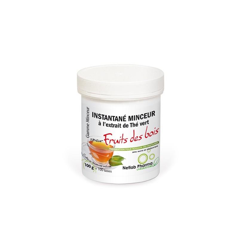 Thé Minceur instantané Fruits des bois (100 tasses)