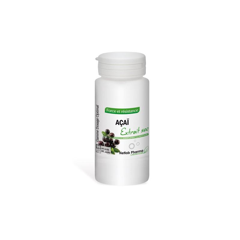 Açaï 90 gélules Dosage Optimal