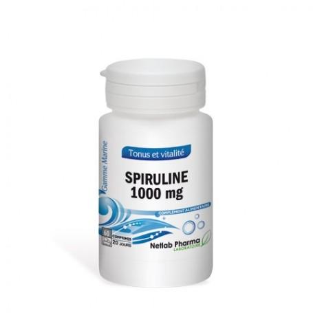 Spiruline 1000 mg