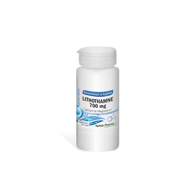 Lithothamne 700 mg 90 gélules