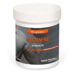 Glutamine Mix poudre en pot de 250 g
