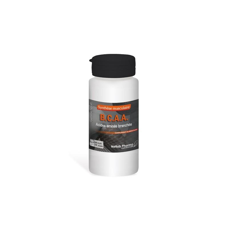 BCAA Acides Aminés Branchés 90 gélules