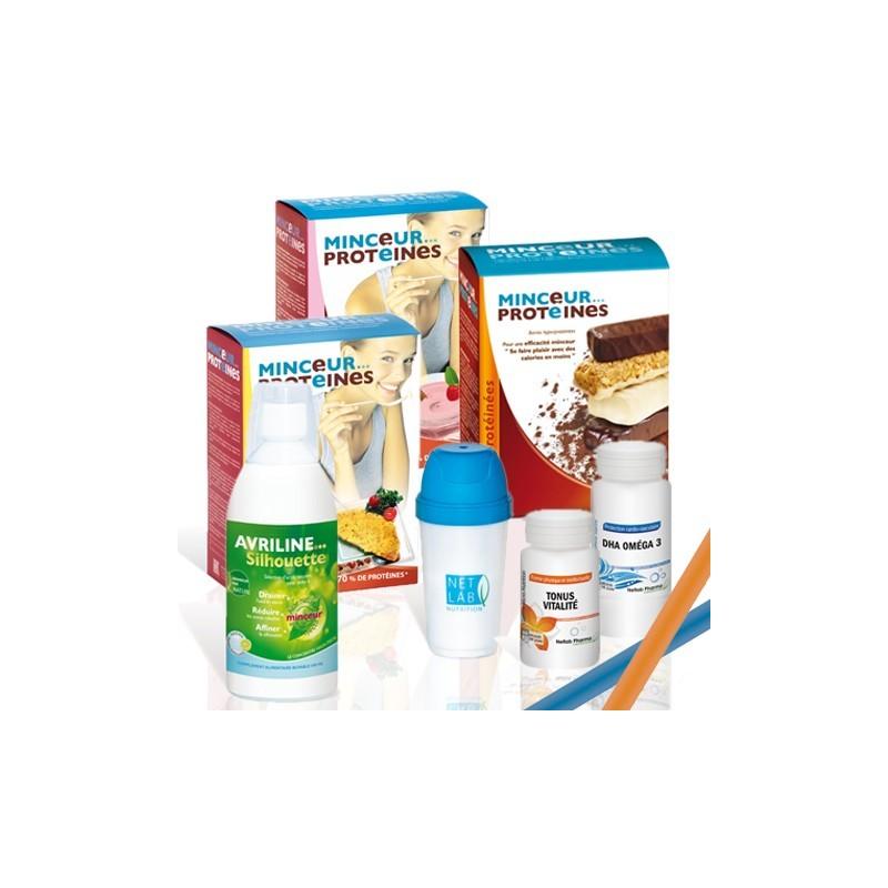 Pack Minceur Protéines (programme 15 jours)
