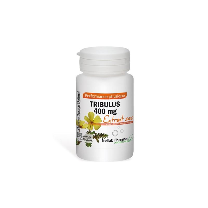 Tribulus 400 mg 90 gélules Dosage Optimal