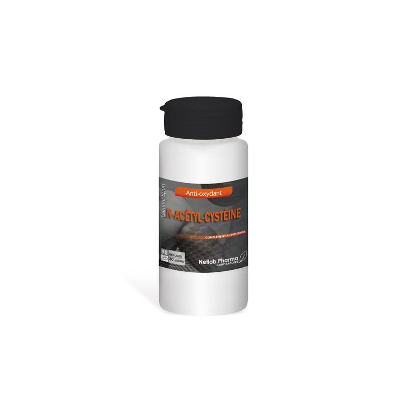 N-acétyl-cystéine 90 gélules